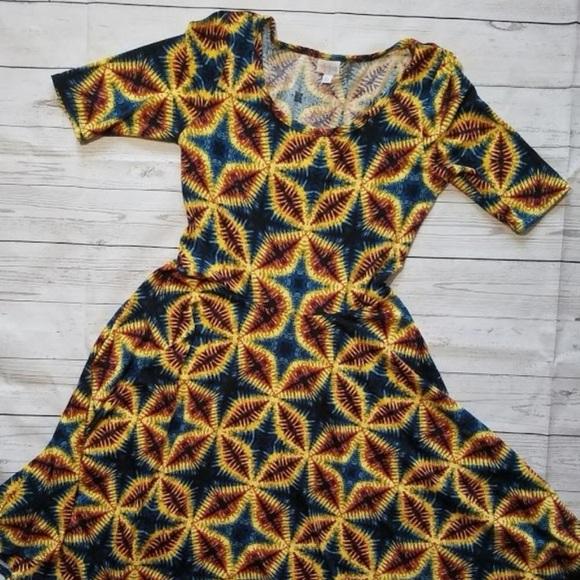Lularoe Dresses African Inspired Nicole Dress Poshmark